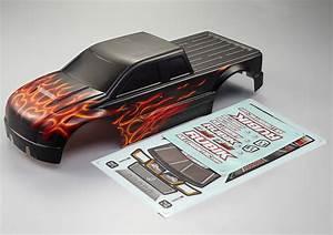 1 10 Karosserie : killerbody rubik 1 10 monster truck karosserie flame rc ~ Jslefanu.com Haus und Dekorationen