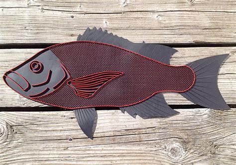 Fish Doormat by Durable Doormat In Snapper Fish Shape