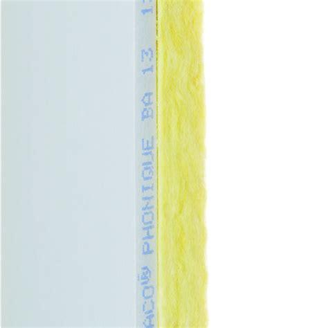 plaque isolation phonique plafond plaque mince d isolation phonique placo