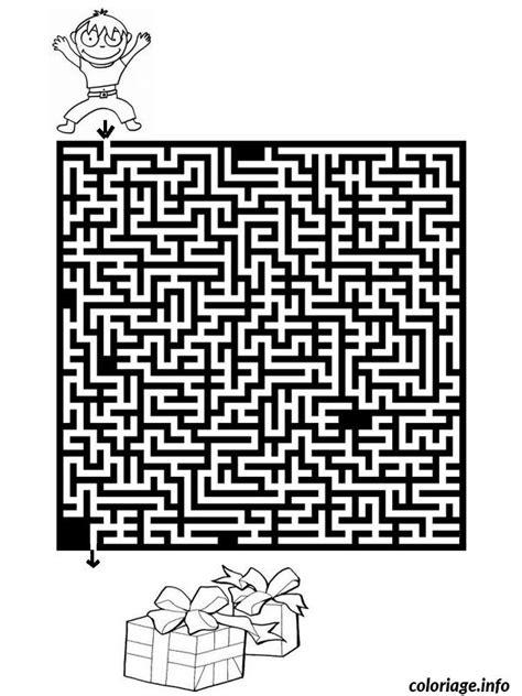 jeux de noel cuisine coloriage jeux labyrinthe noel 6 jecolorie com