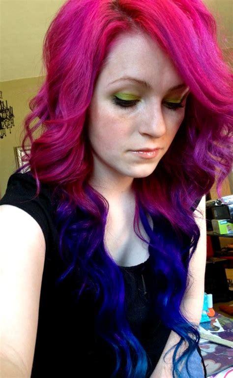 Hair Hair Color Pink Hair Pink Blue Hair Blue Multi