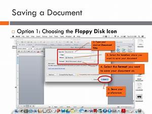How to Create & Save a Document