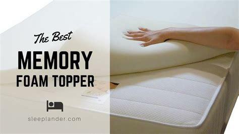 Best Budget-buy Memory Foam Mattress Toppers Reviews