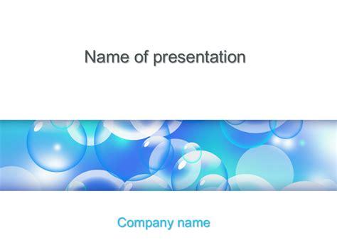 liquid bubbles powerpoint template