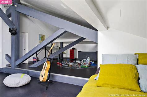 chambre pour deux enfants aménagez des combles en dortoir d 39 enfants maison créative
