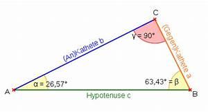 Rechtwinkliges Dreieck Online Berechnen : trigonometrie lernpfad ~ Themetempest.com Abrechnung