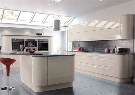 High Gloss Cashmere Kitchen Doors from £2.99