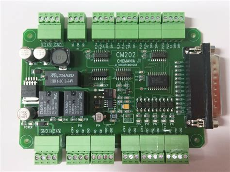 new cnc breakout board mach3 cm 201 parallel connection interface board ebay