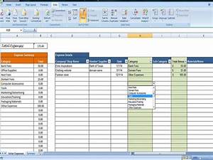 How To Track Expenses For Small Business Overhead Expense Template Small Business Expenses