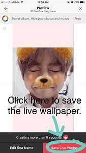 How To Make a BTS Live Wallpaper