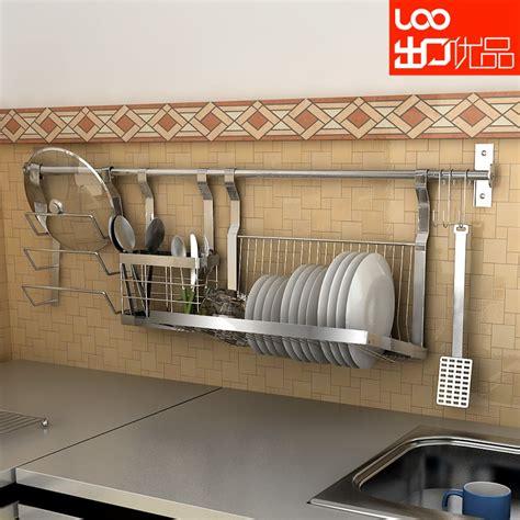 wall mounted stainless steel dish rack shelf