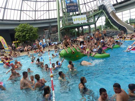 sommer poolparty im aquapark oberhausen