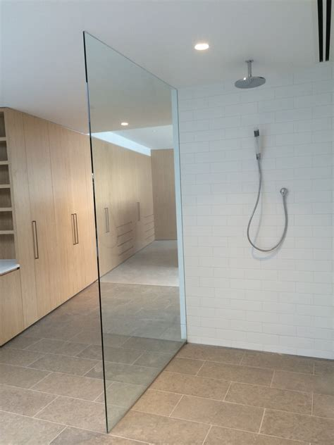 frameless sliding shower door glass shower screens in melbourne frameless impressions
