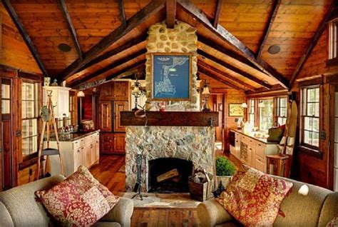 22 Luxurious Log Cabin Interiors You Have To See