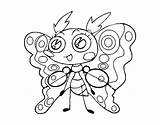 Moth Coloring Clothing Coloringcrew sketch template
