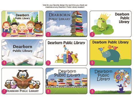 vote   favorite library card design