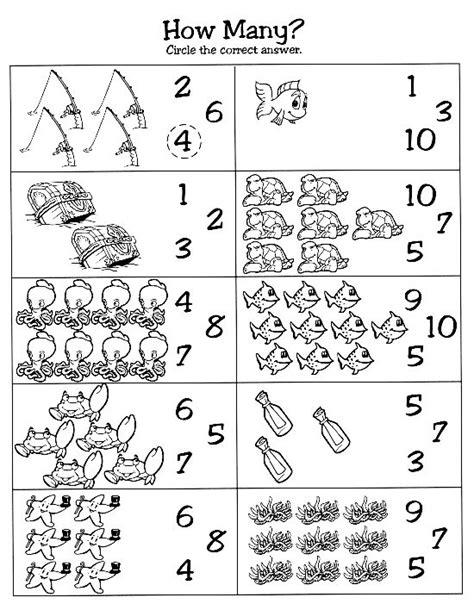 Sea Life Worksheets For Kindergarten  Ocean Animals Worksheets For Kidssea Printable Templates