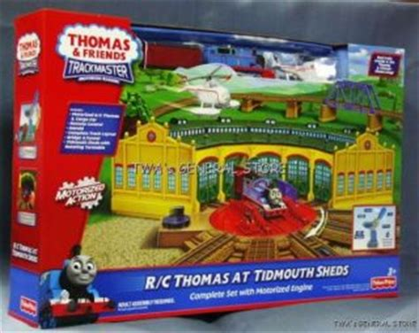 thomas at tidmouth sheds trackmaster train set by hit toys