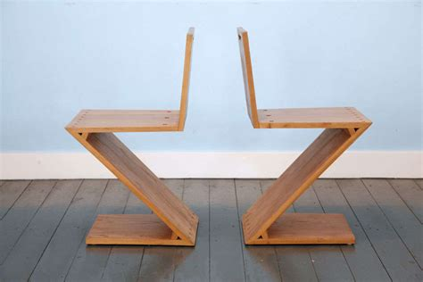 zig zag chair by gerrit rietveld at 1stdibs