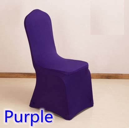 spandex chair cover purple colour lycra cover for wedding