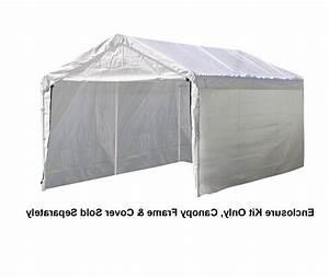 Tent Storage Garage Enclosure Shelter Canopy Kit Fabric