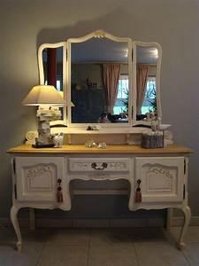 Meuble Coiffeuse But : meuble coiffeuse ~ Teatrodelosmanantiales.com Idées de Décoration