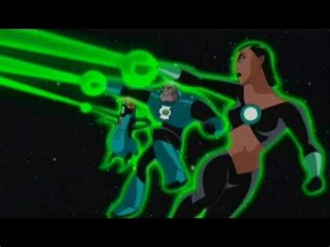 League Kumo Green green lantern kyle rayner on jlu 1 of 4