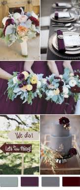 plum wedding colors top 5 fall wedding colors for september brides