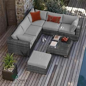 Rattan Sofa Balkon : maze rattan london corner sofa set grey white stores outdoor rooms pinterest balkon ~ Indierocktalk.com Haus und Dekorationen