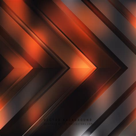 Abstract Black And Background by Abstract Black Orange Arrow Background Template