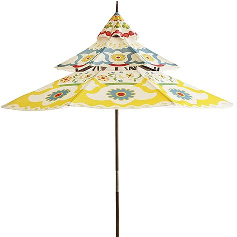 Pagoda Style Patio Umbrella by And Colorful Garden Furniture By Pier 1