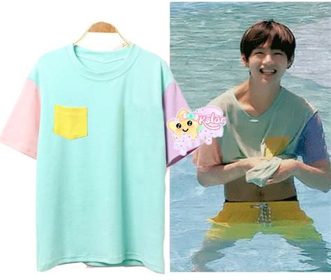 BTS' V Style Colorful Shirt · K-STAR · Online Store
