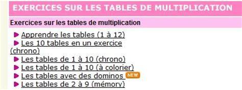 scorpions des ardoises apprendre les tables de multiplication en s amusant