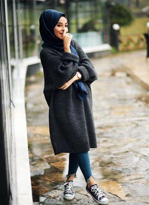 20 Attractive Hijab Winter Outfits u2013 OBSiGeN