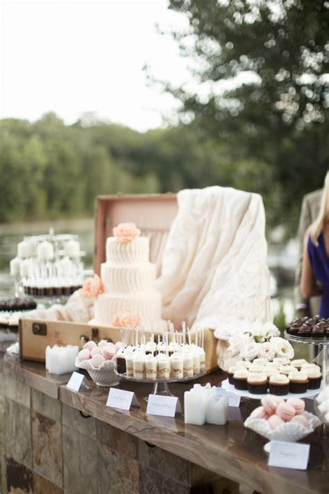 Cocoa And Fig Twin Cities Wedding Mini Dessert Table And 4