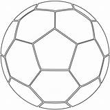 Ball Coloring Soccer Pages Printable Football Sports Supercoloring Crafts sketch template
