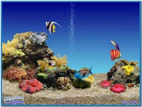 free aquarium screensaver wallpaper