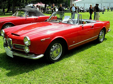 1965 Alfa Romeo Spider  Information And Photos Momentcar