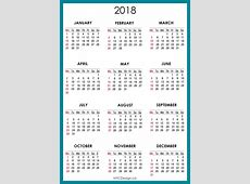 New York Web Design Studio, New York, NY 2018 Calendar