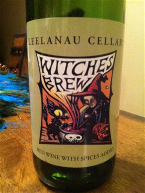 leelanau cellars witches brew red wine info