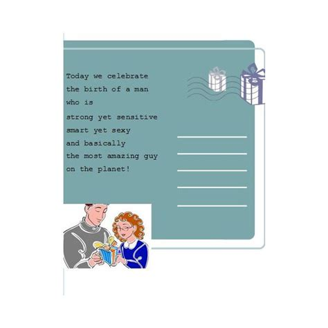 birthday card template husband free publisher birthday card templates to