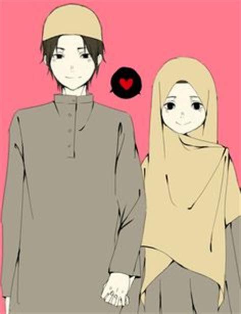 Anime Berhijab Bergerak Gambar Kartun Muslimah Cantik Berhijab Animasi Bergerak
