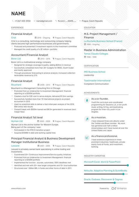 entry level financial analyst resume louiesportsmouthcom