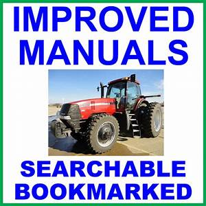 Case Ih Mx255 And Mx285 Magnum Tractor Service Repair Manual - Improved - Download