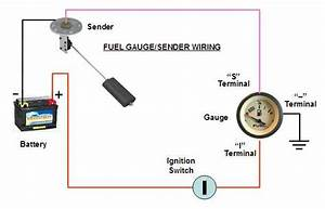 Marine Gauge Wiring Diagram For Gas