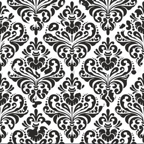 black damask wallpaper white photo studio background vinyl