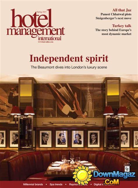 hotel management international uk spring