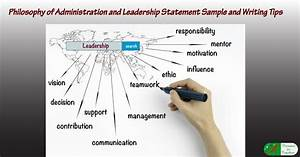cover letter samples for teachers writing a philosophy of administration and leadership