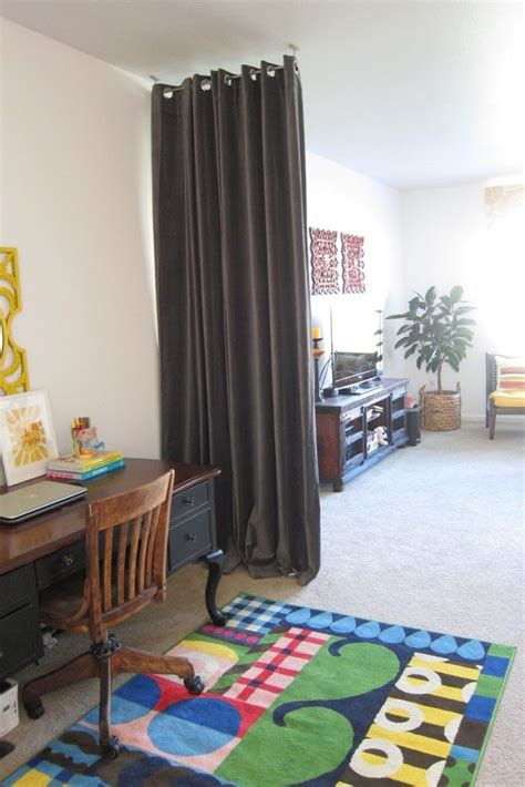 Raumteiler Vorhang Ideen by 13 Amazing Ceiling Curtain Room Divider Snapshot Ideas