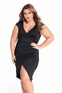 Femme Ronde Robe : robe noire pour femme ronde robes de mode site photo blog ~ Preciouscoupons.com Idées de Décoration